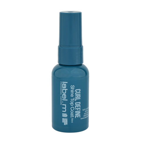 Label.M Create Curl Define Shine Topcoat 50ml - Siero definizione capelli ricci