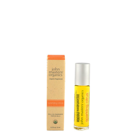 John Masters Organics Sparkling Citrus Roll On Fragrance 9ml - profumo agrumato