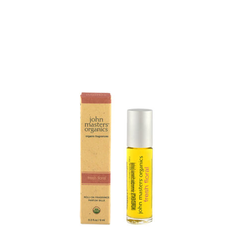 John Masters Organics Fresh Floral Roll On Fragrance 9ml - profumo floreale