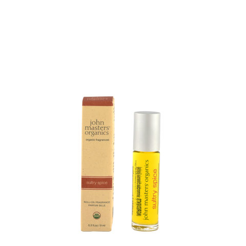John Masters Organics Sultry Spice Roll On Fragrance 9ml - profumo speziato
