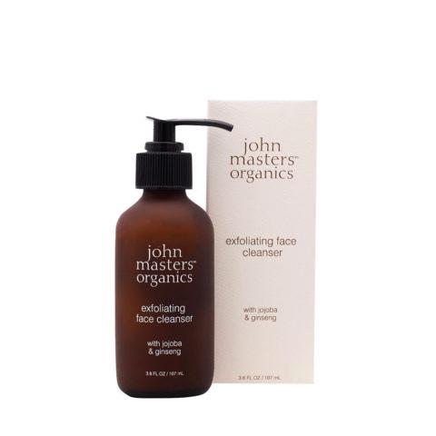 John Masters Organics Jojoba & Ginseng Exfoliating Face Cleanser 107ml - detergente viso esfoliante