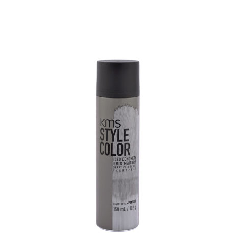 KMS Style Color Iced concrete 150ml - Colore Spray Grigio Marmo