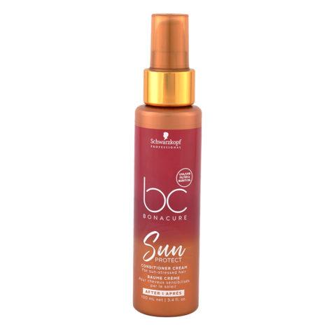 Schwarzkopf Bonacure Sun Protect Conditioner Cream 100ml - balsamo spray doposole idratante