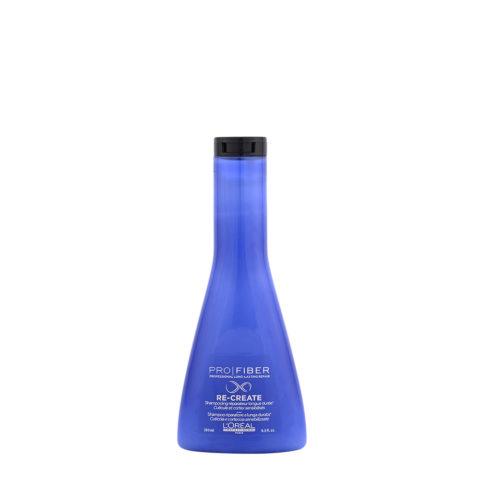 L'Oreal Pro fiber Recreate Shampoo 250ml - shampoo ristrutturante leggero
