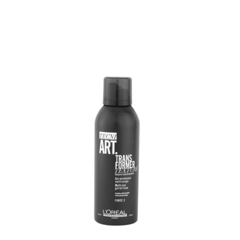 L'Oreal Tecni Art Transformer Texture gel on mousse 150ml - gel in mousse