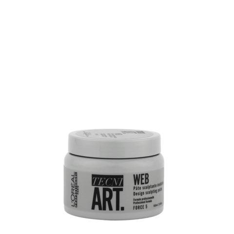 L'oreal Tecni Art Web Sculpting Paste 150ml - cera modellante