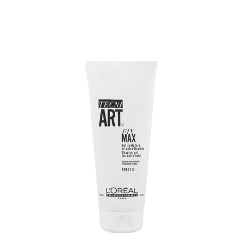 L'oreal Tecni Art Fix Max Gel 200ml - gel tenuta estrema