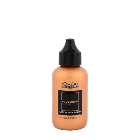 L'oreal Colorful hair Flash Gold Digger 60ml - make up per i capelli oro