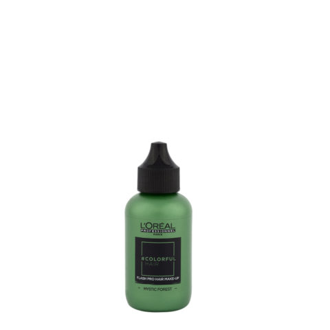 L'oreal Colorful hair Flash Mystic Forest 60ml - make up per i capelli verde