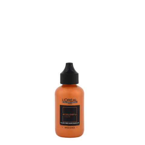 L'oreal Colorful hair Flash Spice Is Nice 60ml - make up per i capelli arancio