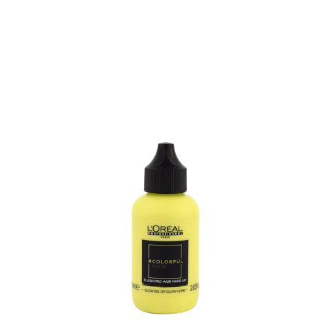 L'oreal Colorful hair Flash Glow Big or Glow Home 60ml - make up per i capelli