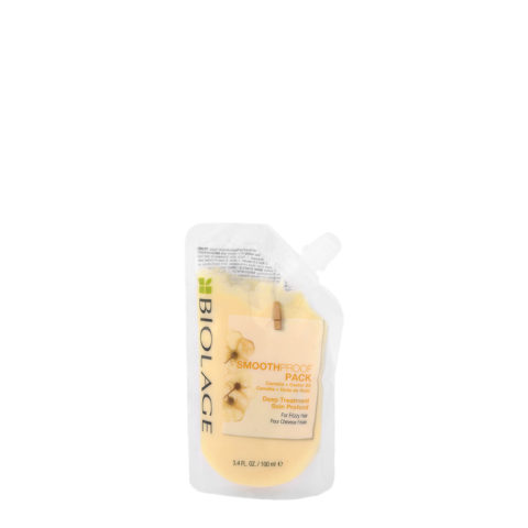 Biolage Smoothproof Pack Deep treatment 100ml - maschera anticrespo