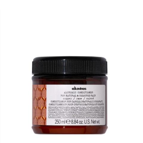 Davines Alchemic Conditioner Copper 250ml - balsamo colorato capelli ramati