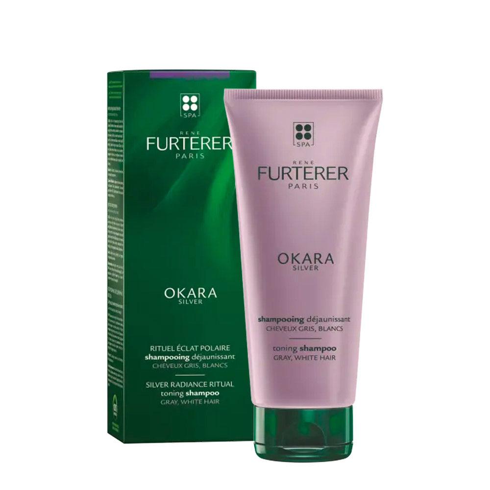 René Furterer Okara Silver Shampoo 200ml - shampoo antigiallo