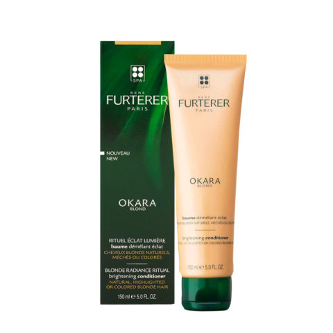 René Furterer Okara Blond Brightening Conditioner 150ml - Balsamo Illuminante Capelli Biondi
