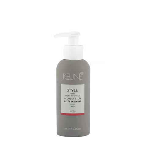 Keune Style Heat protect Blowout Gelée N.56, 200ml - lozione per asciugatura