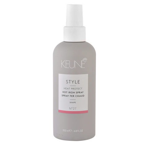 Keune Style Heat protect Hot Iron Spray N.27, 200ml - spray protezione dal calore