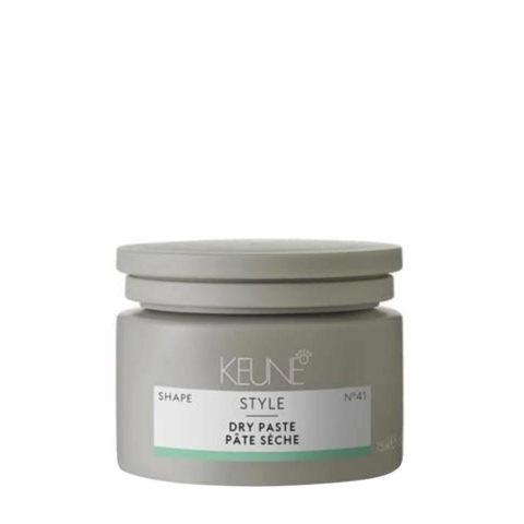 Keune Style Dry Paste N.41, 75ml - cera testurizzante