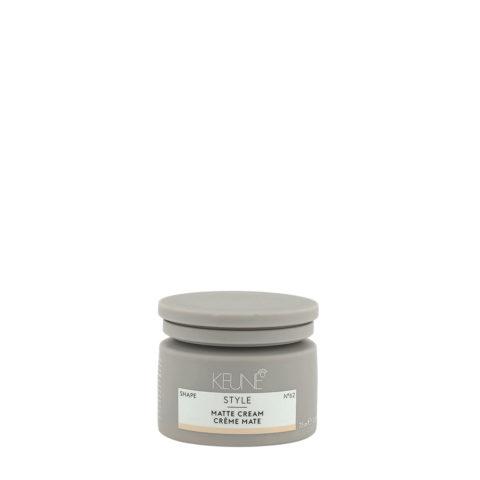 Keune Style Matte Cream N.62, 75ml - cera opaca tenuta forte