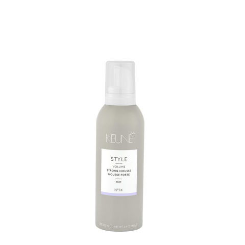 Keune Style Volume Strong Mousse N.74, 200ml - mousse volumizzante forte