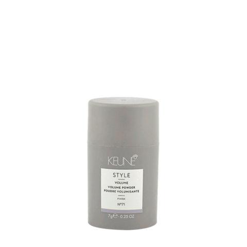 Keune Style Volume Volume Powder N.71, 7gr - polvere volumizzante
