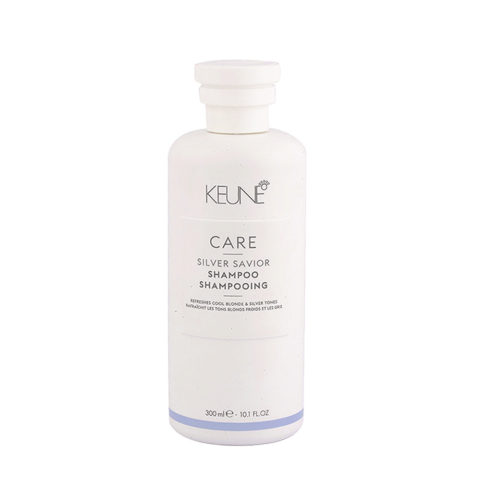 Keune Care line Silver savior Shampoo 300ml - Shampoo Antigiallo Per Capelli Bianchi O Biondi