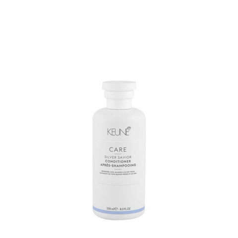 Keune Care line Silver savior Conditioner 250ml - balsamo antigiallo per capelli biondi