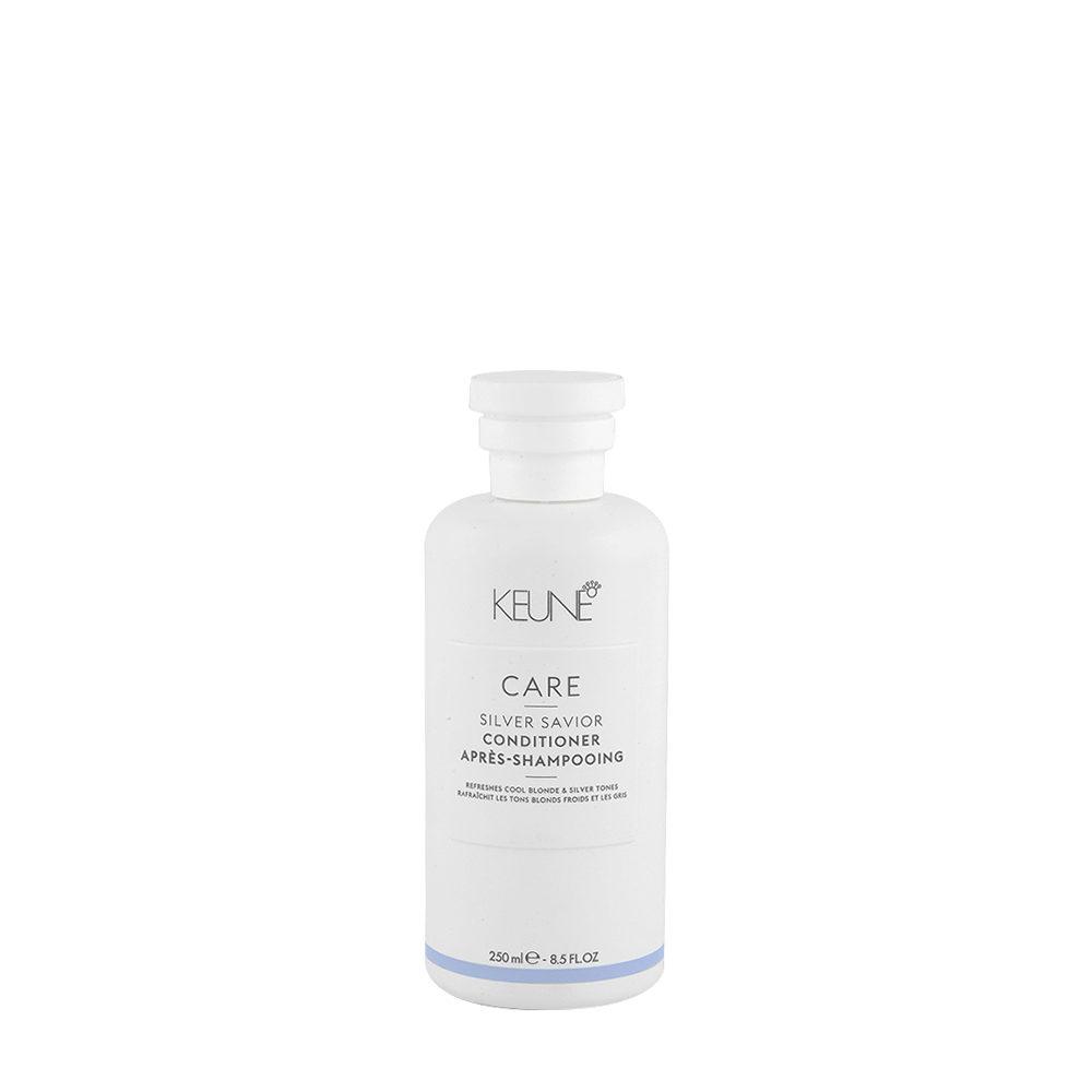 Keune Care line Silver savior Conditioner 250ml - balsamo antigiallo per capelli biondi
