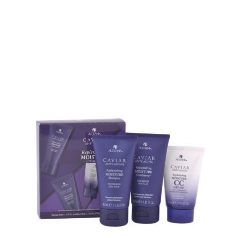 Alterna Caviar Replenishing Moisture Kit da viaggio idratante