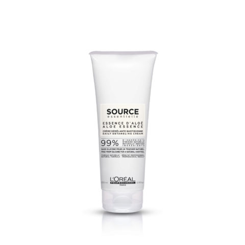 L'Oréal Source Essentielle Aloe essence Daily detangling cream 200ml - balsamo districante