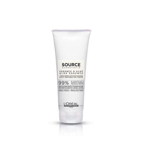 L'Oréal Source Essentielle Aloe essence Daily detangling cream 200ml - balsamo naturale uso quotidiano