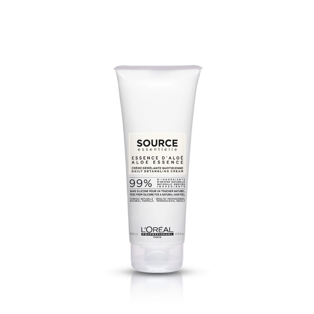 L'Oréal Source Essentielle Aloe essence Daily detangling cream 200ml - balsamo districante