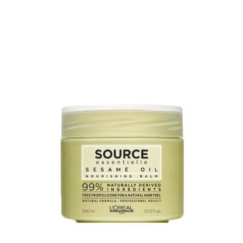 L'Oréal Source Essentielle Sesame oil Nourishing balm 300ml - balsamo ad olio idratante nutriente