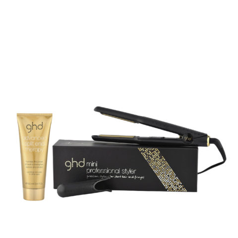 GHD Kit Piastra V Gold classic styler mini Split end therapy 100ml