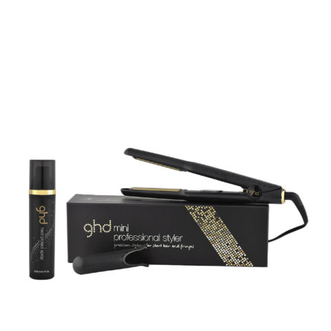 GHD Kit Piastra V Gold classic styler mini Heat protect spray 120ml