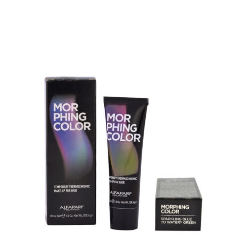 Alfaparf Morphing Color Sparkling blue to watery green 30ml - colore temporaneo da blu a verde acqua
