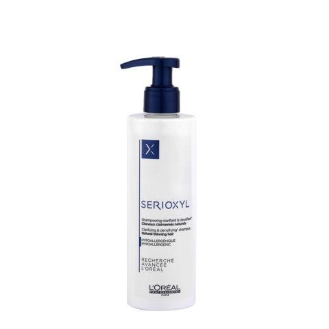 L'Oreal Serioxyl Clarifying densifying Shampoo 250ml - ridensificante per capelli naturali