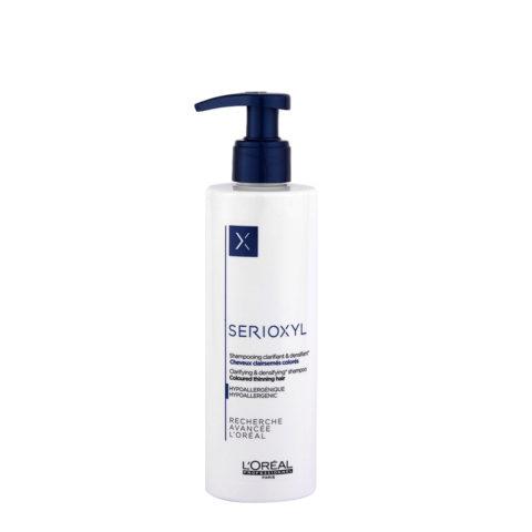 L'Oreal Serioxyl Clarifying densifying Shampoo 250ml - ridensificante per capelli colorati