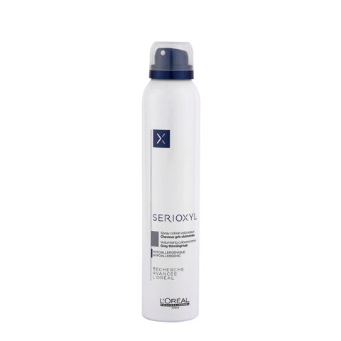 L'Oreal Serioxyl Volumising Coloured Spray Grey 200ml - spray colorato grigio volumizzante