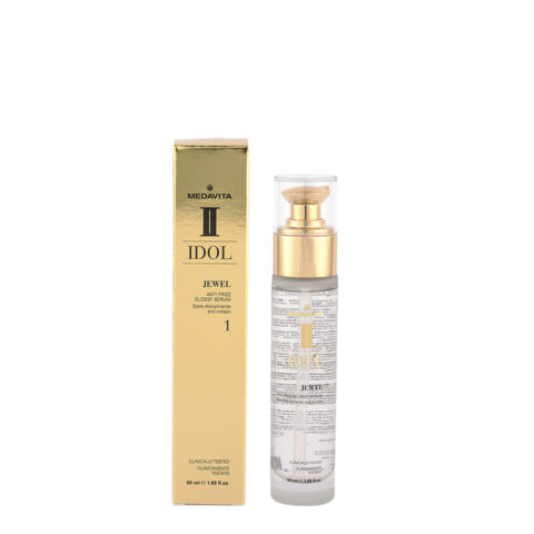Medavita Idol Jewel Anti Frizz Glossy Serum 50ml - siero anticrespo