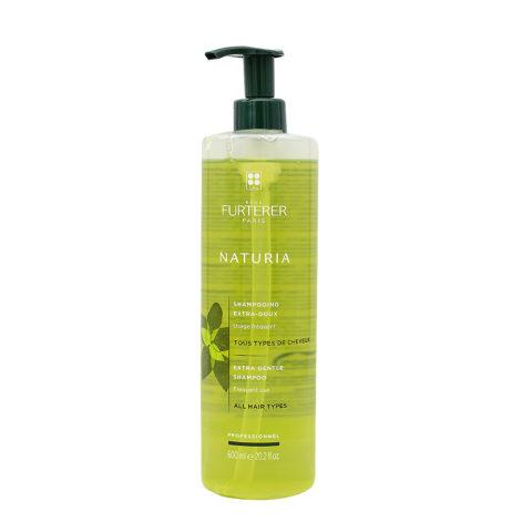 René Furterer Naturia Extra Gentle Shampoo 600ml - Shampoo Extra Delicato Uso Frequente