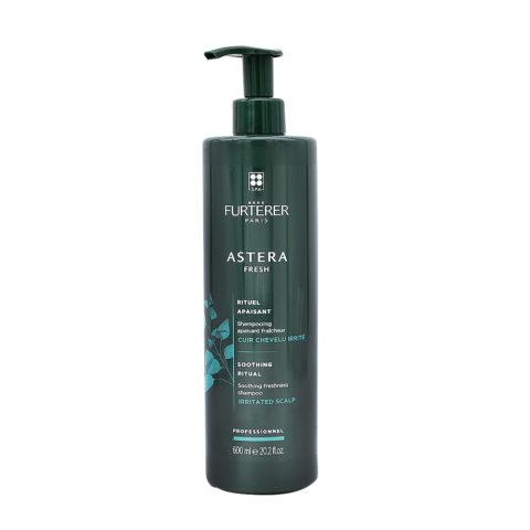 René Furterer Astera Fresh Soothing Freshness Shampoo 600ml - Lenitivo Rinfrescante Per Cute Irritata