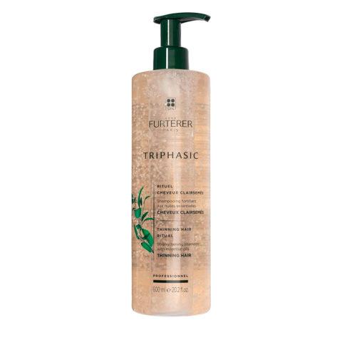 René Furterer Triphasic shampoo 600ml - shampoo stimolante