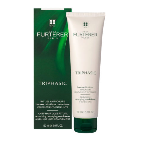 René Furterer Triphasic Anti-Hair Loss Ritual Texturizing Detangling Conditioner 150ml - Balsamo Anticaduta