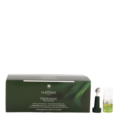 René Furterer Triphasic Progressive Anti-Hair Loss Treatment 16x5,5ml - Fiale Anticaduta Progressiva