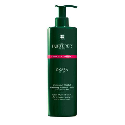 René Furterer Okara Color Protection Shampoo 600ml - Shampoo Protettivo Per Capelli Colorati
