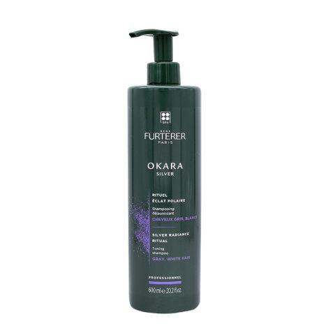 René Furterer Okara Silver Shampoo 600ml - shampoo antigiallo