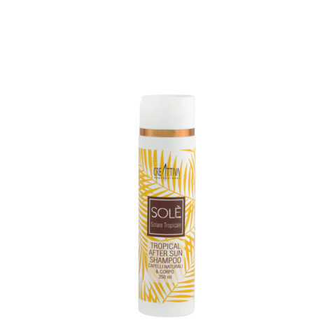 Creattiva Solè Tropical After Sun Shampoo Capelli Naturali & Corpo 250ml - Shampoo Doposole