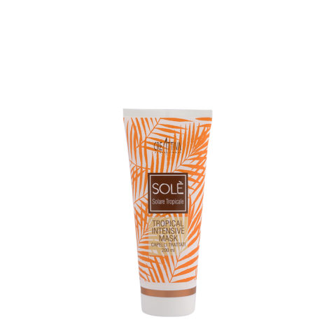 Creattiva Solè Tropical Intensive Mask Capelli Trattati 200ml - Maschera Doposole Intensiva