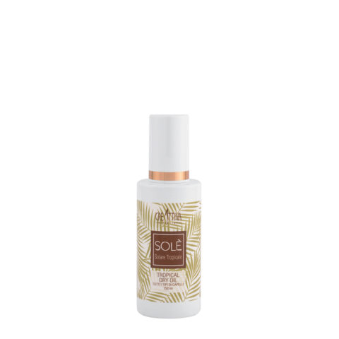 Creattiva Solè Tropical Dry Oil Tutti I Tipi Di Capelli 150ml - Olio Leggero Per Capelli